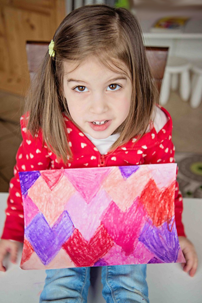 Tessellation Heart Art, a Valentine's Day project from Life Lesson Plans