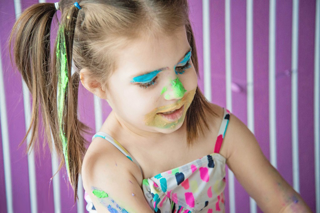 Use these recipes for homemade face paint and hair coloring to turn yourself in to a wacky Dr. Seuss character!