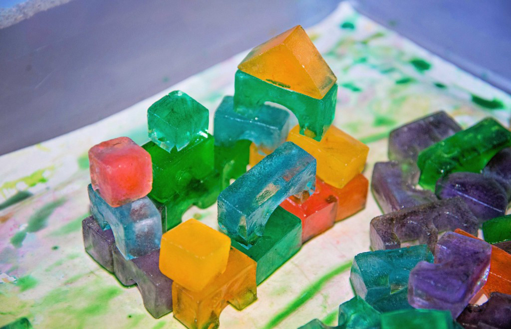 Rainbow Ice Castle by Life Lesson Plans