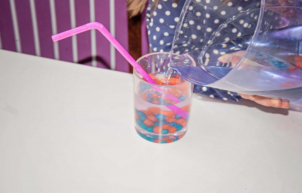 These edible water beads are perfect for toddlers who still put stuff in their mouths!