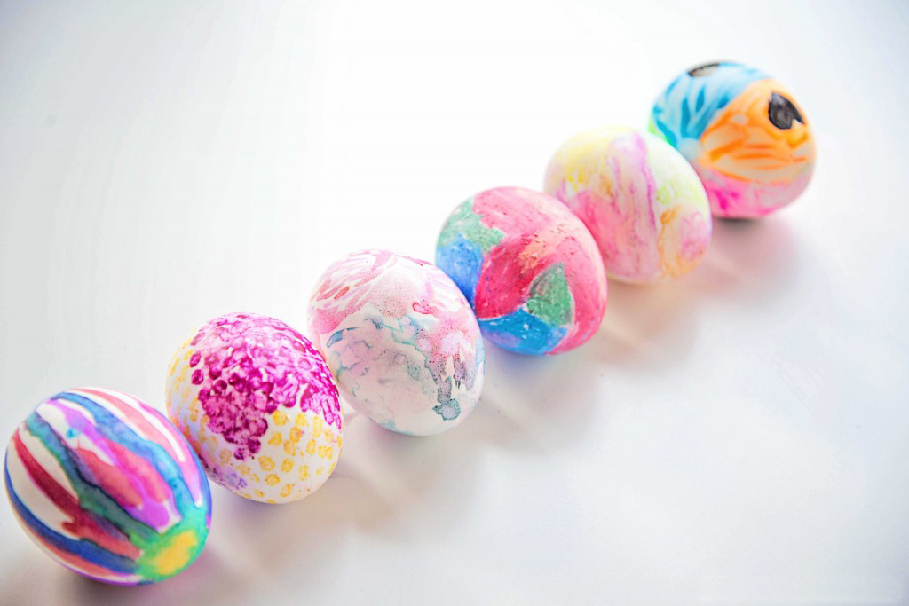 Six famous artists, six different art supplies, six different art lessons with this art history Easter egg activity!