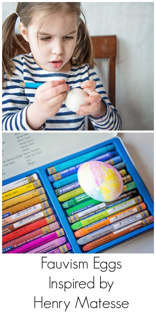 Fauvism Eggs, inspired by Henry Matisse
