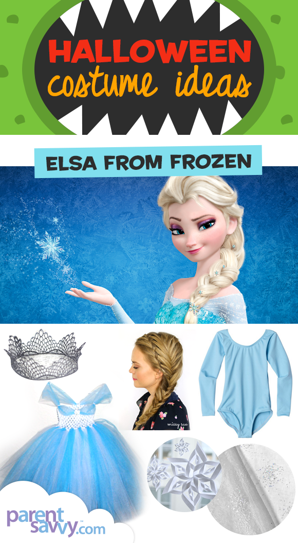 So if your child loves Frozen and wants to be Elsa this Halloween this is the post for you!  sc 1 st  ParentSavvy & Halloween Costume Ideas: Elsa from Frozen | ParentSavvy
