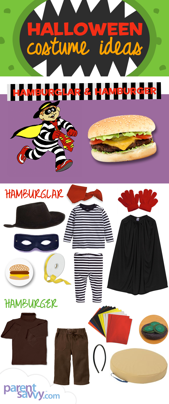 halloween costume ideas hamburglar a hamburger