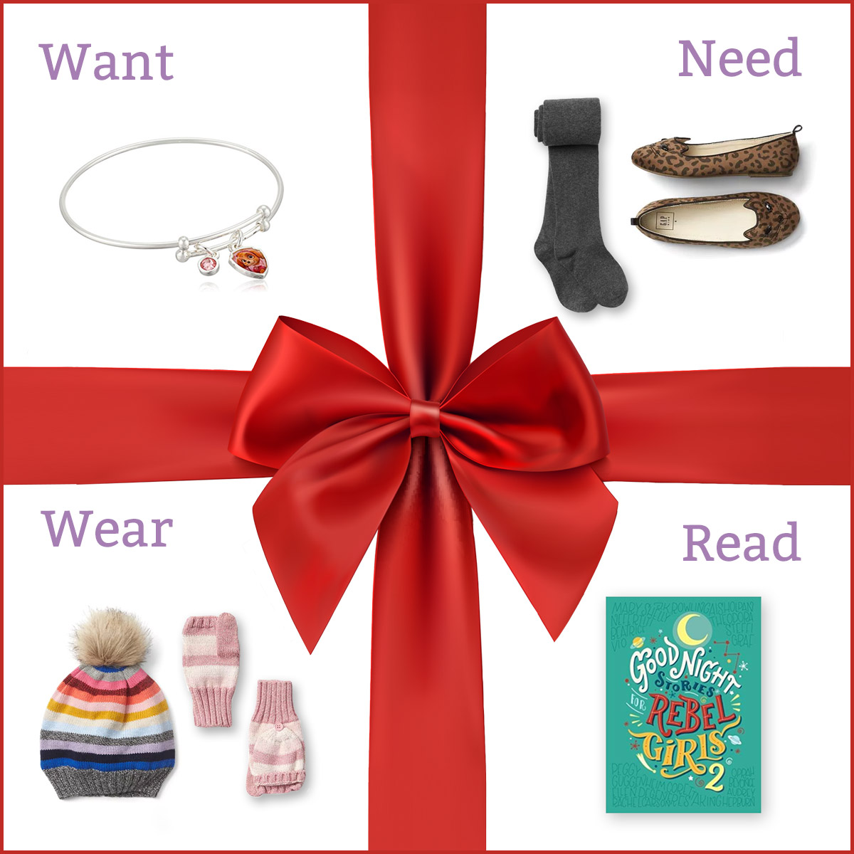 Four Gifts | Keeping Christmas Simple | ParentSavvy