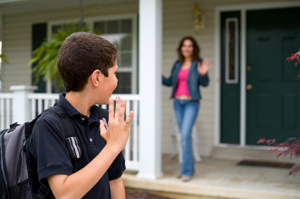 Teens leaving home for college