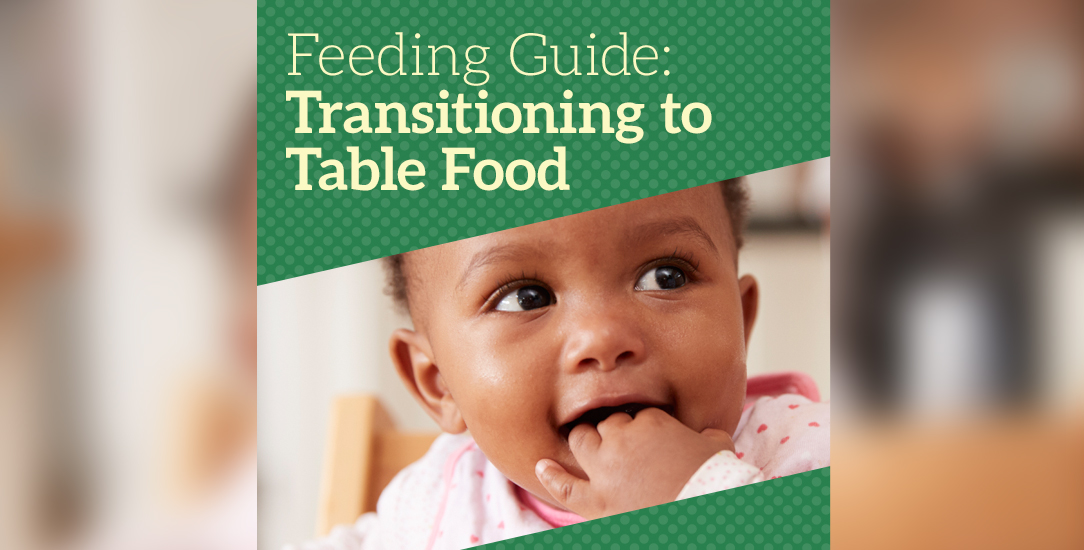 Feeding Guide: Transitioning to Table Food
