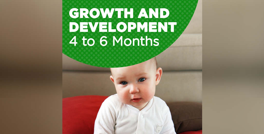 Growth and Development: 4 to 6 months