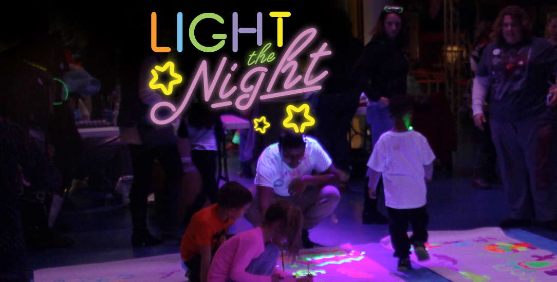Light the Night at the Omaha Children's Museum