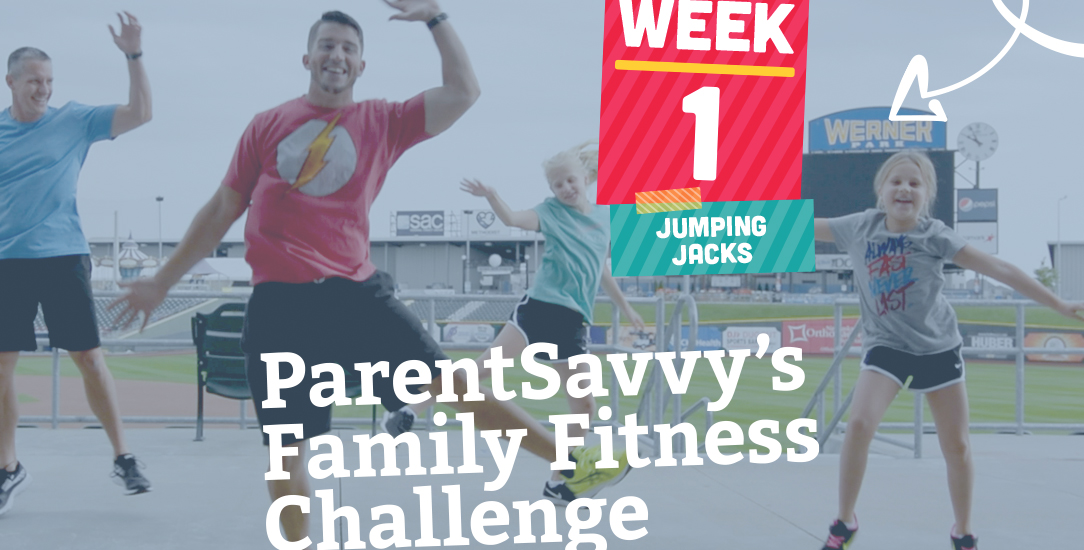 Family Fitness Challenge Week 1: Jumping Jacks