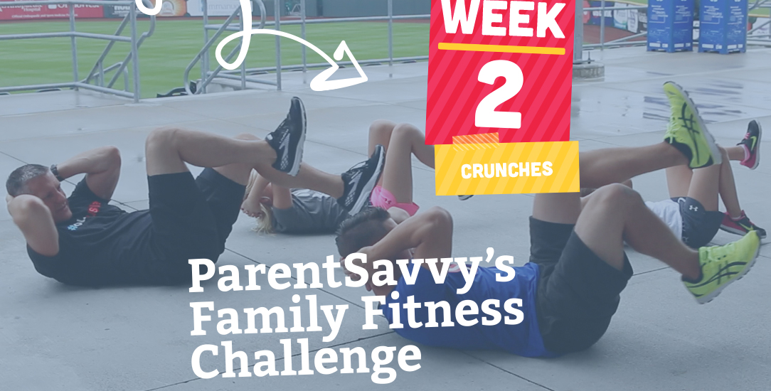 Family Fitness Challenge Week 2: Crunches