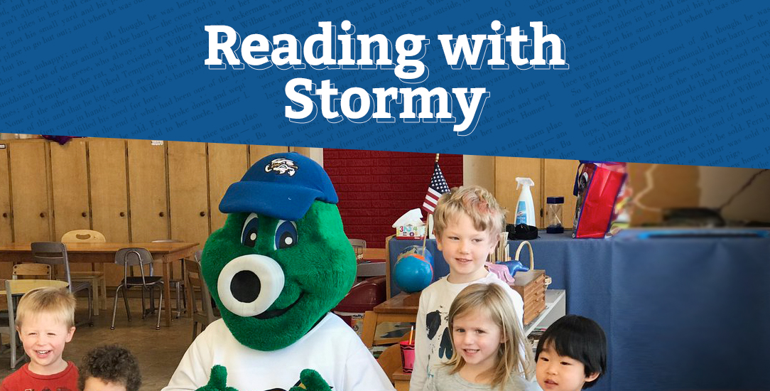 Reading with Stormy