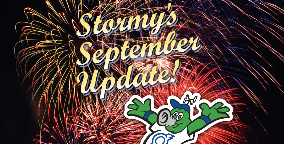Stormy's September Update!