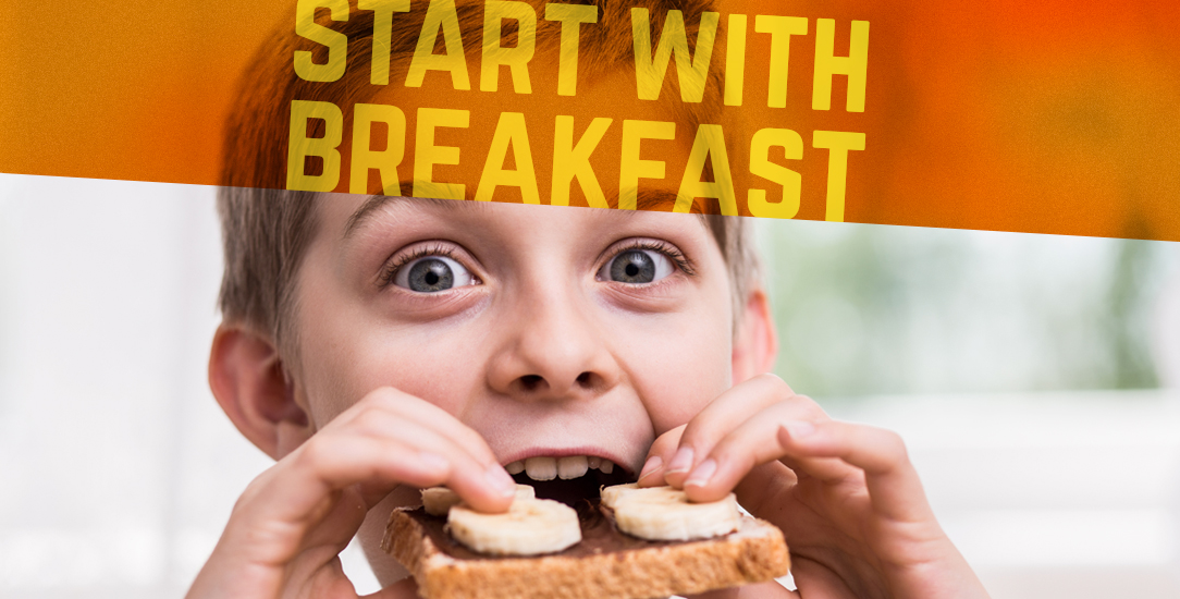 Start with Breakfast and Protect Your Kids from Obesity + Recipe