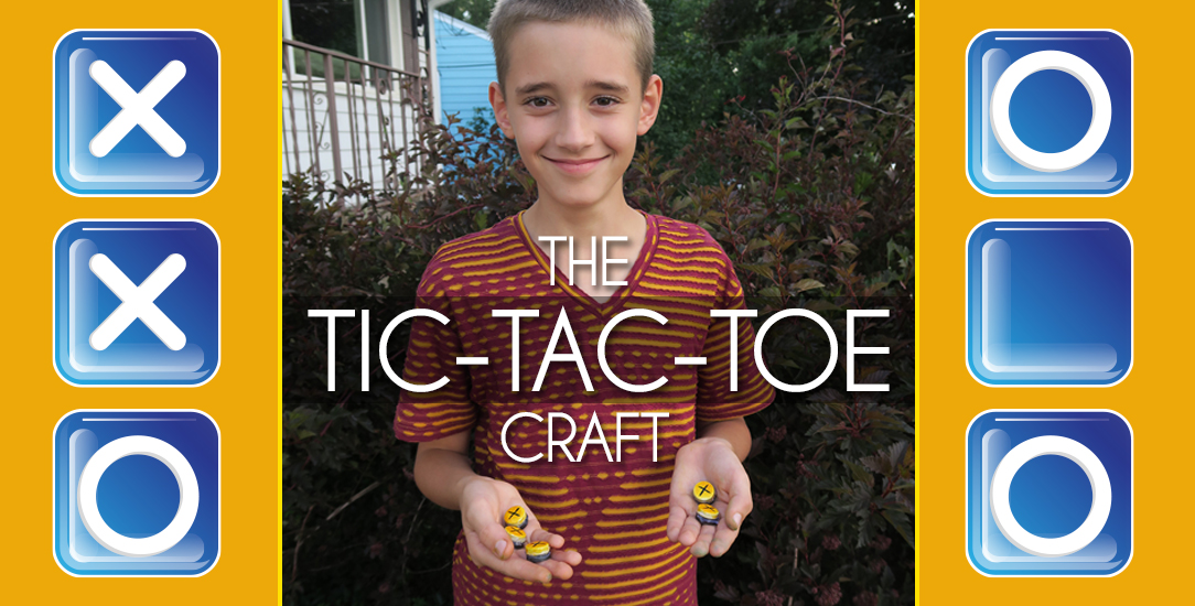 Tile Tic-Tac-Toe Craft