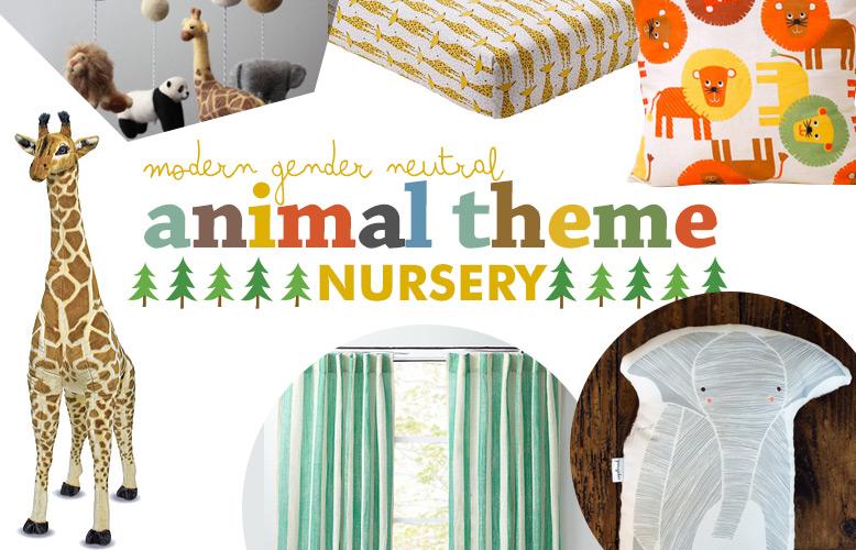 Modern Gender Neutral Animal Theme Nursery Parentsavvy