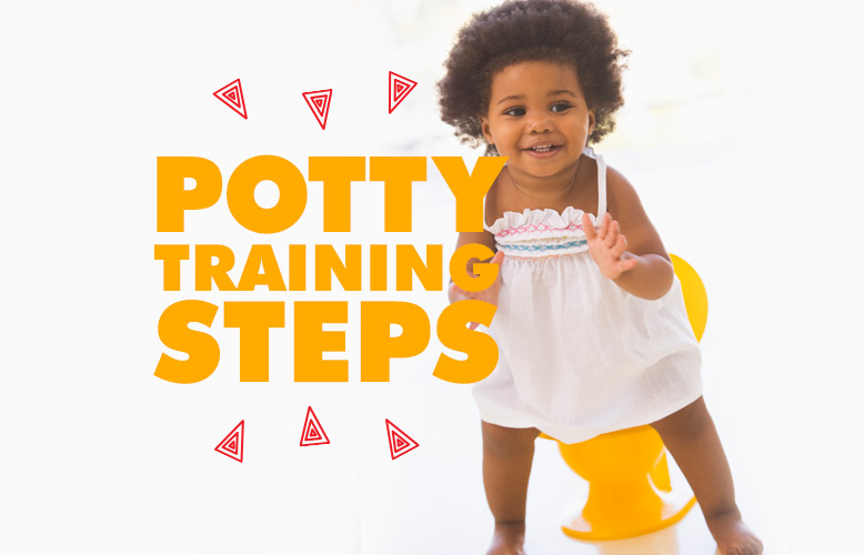 Potty Training Steps