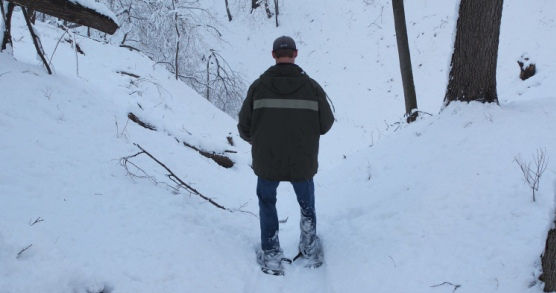Fight Cabin Fever: Snow-Shoeing Trails at Fontenelle Forest