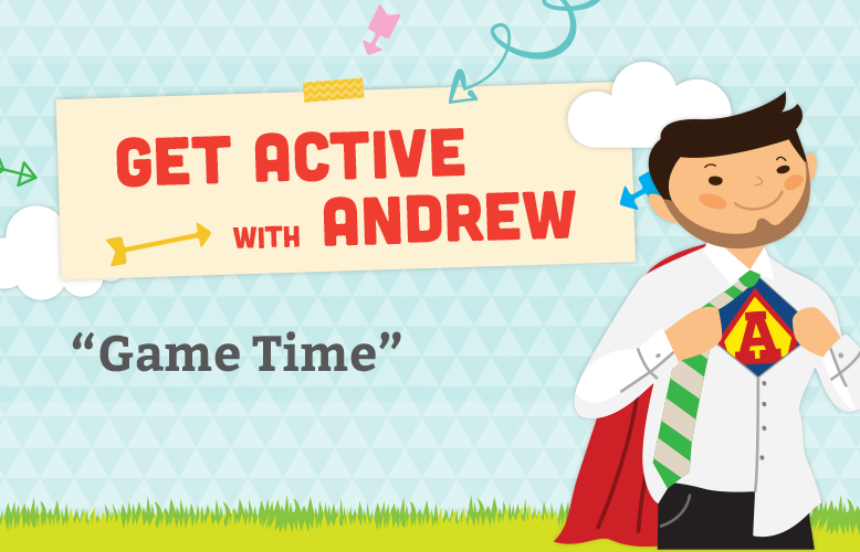Get Active with Andrew: Body Part Identification
